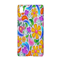 Floral Paisley Background Flower Sony Xperia Z3+ by Nexatart