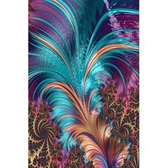 Feather Fractal Artistic Design 5 5  X 8 5  Notebooks by Nexatart