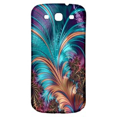 Feather Fractal Artistic Design Samsung Galaxy S3 S Iii Classic Hardshell Back Case