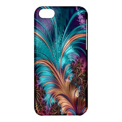 Feather Fractal Artistic Design Apple Iphone 5c Hardshell Case by Nexatart