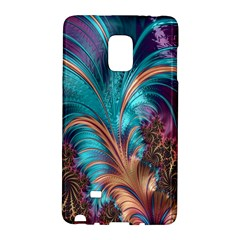 Feather Fractal Artistic Design Galaxy Note Edge
