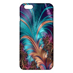 Feather Fractal Artistic Design Iphone 6 Plus/6s Plus Tpu Case by Nexatart