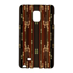 Floral Strings Pattern Galaxy Note Edge