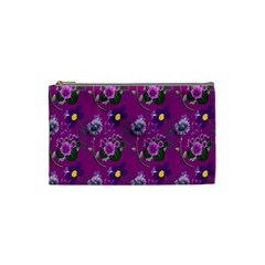 Flower Pattern Cosmetic Bag (small)  by Nexatart