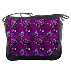 Flower Pattern Messenger Bags