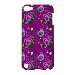 Flower Pattern Apple Ipod Touch 5 Hardshell Case