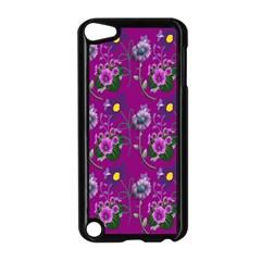 Flower Pattern Apple Ipod Touch 5 Case (black)