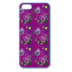 Flower Pattern Apple Seamless Iphone 5 Case (color)