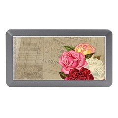 Flower Floral Bouquet Background Memory Card Reader (mini)