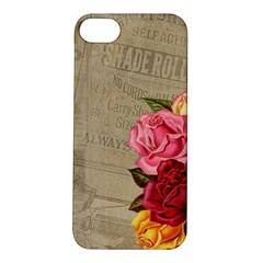 Flower Floral Bouquet Background Apple Iphone 5s/ Se Hardshell Case