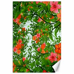 Flower Background Backdrop Pattern Canvas 20  X 30