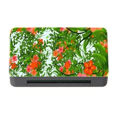 Flower Background Backdrop Pattern Memory Card Reader With Cf by Nexatart