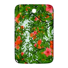 Flower Background Backdrop Pattern Samsung Galaxy Note 8 0 N5100 Hardshell Case
