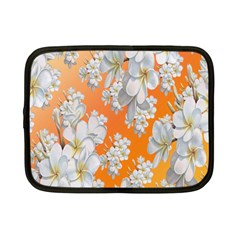 Flowers Background Backdrop Floral Netbook Case (small)  by Nexatart