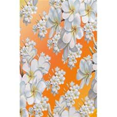 Flowers Background Backdrop Floral 5.5  x 8.5  Notebooks by Nexatart