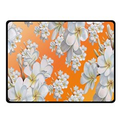 Flowers Background Backdrop Floral Fleece Blanket (small)
