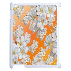 Flowers Background Backdrop Floral Apple Ipad 2 Case (white) by Nexatart