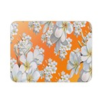 Flowers Background Backdrop Floral Double Sided Flano Blanket (Mini)  35 x27 Blanket Back