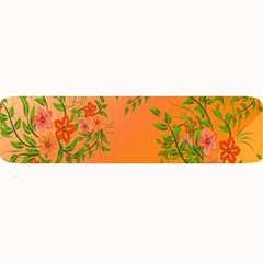 Flowers Background Backdrop Floral Large Bar Mats