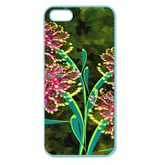 Flowers Abstract Decoration Apple Seamless Iphone 5 Case (color)
