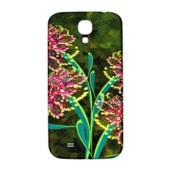 Flowers Abstract Decoration Samsung Galaxy S4 I9500/i9505  Hardshell Back Case