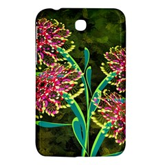 Flowers Abstract Decoration Samsung Galaxy Tab 3 (7 ) P3200 Hardshell Case  by Nexatart