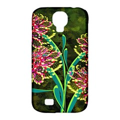 Flowers Abstract Decoration Samsung Galaxy S4 Classic Hardshell Case (pc+silicone)