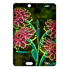 Flowers Abstract Decoration Amazon Kindle Fire Hd (2013) Hardshell Case