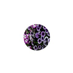 Flowers Blossom Bloom Plant Nature 1  Mini Buttons by Nexatart
