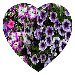 Flowers Blossom Bloom Plant Nature Jigsaw Puzzle (heart)