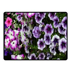 Flowers Blossom Bloom Plant Nature Fleece Blanket (small)
