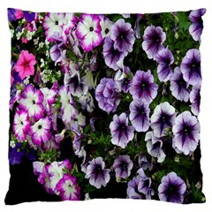 Flowers Blossom Bloom Plant Nature Large Cushion Case (one Side)
