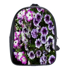 Flowers Blossom Bloom Plant Nature School Bags (xl)