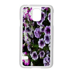Flowers Blossom Bloom Plant Nature Samsung Galaxy S5 Case (white) by Nexatart