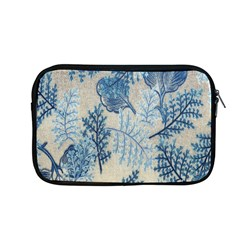 Flowers Blue Patterns Fabric Apple Macbook Pro 13  Zipper Case by Nexatart