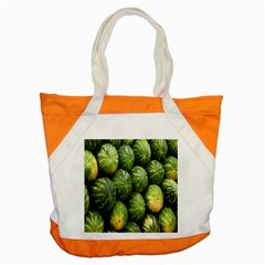 Food Summer Pattern Green Watermelon Accent Tote Bag by Nexatart