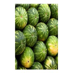 Food Summer Pattern Green Watermelon Shower Curtain 48  X 72  (small)  by Nexatart