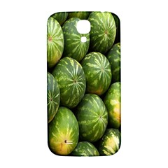 Food Summer Pattern Green Watermelon Samsung Galaxy S4 I9500/i9505  Hardshell Back Case by Nexatart