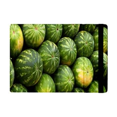 Food Summer Pattern Green Watermelon Ipad Mini 2 Flip Cases by Nexatart