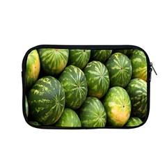 Food Summer Pattern Green Watermelon Apple Macbook Pro 13  Zipper Case by Nexatart