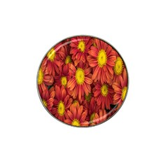 Flowers Nature Plants Autumn Affix Hat Clip Ball Marker