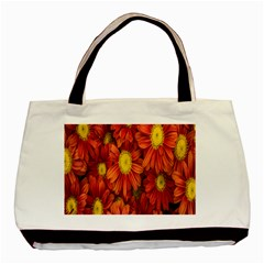 Flowers Nature Plants Autumn Affix Basic Tote Bag (two Sides) by Nexatart