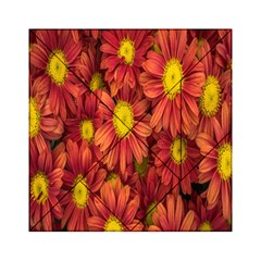 Flowers Nature Plants Autumn Affix Acrylic Tangram Puzzle (6  X 6 ) by Nexatart