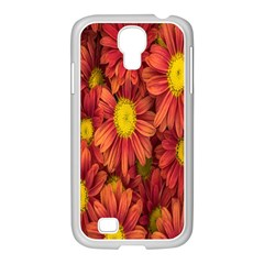 Flowers Nature Plants Autumn Affix Samsung Galaxy S4 I9500/ I9505 Case (white) by Nexatart
