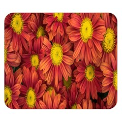 Flowers Nature Plants Autumn Affix Double Sided Flano Blanket (small)