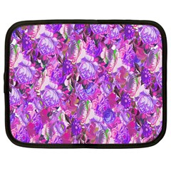 Flowers Abstract Digital Art Netbook Case (xxl)