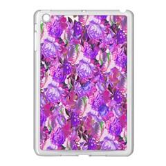 Flowers Abstract Digital Art Apple Ipad Mini Case (white) by Nexatart
