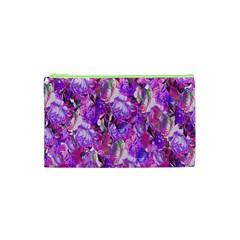Flowers Abstract Digital Art Cosmetic Bag (xs) by Nexatart