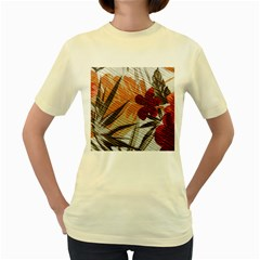 Fall Colors Women s Yellow T Shirt