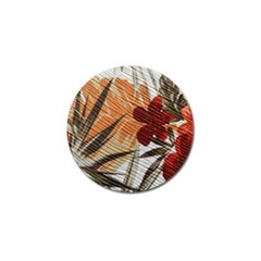 Fall Colors Golf Ball Marker (4 Pack)
